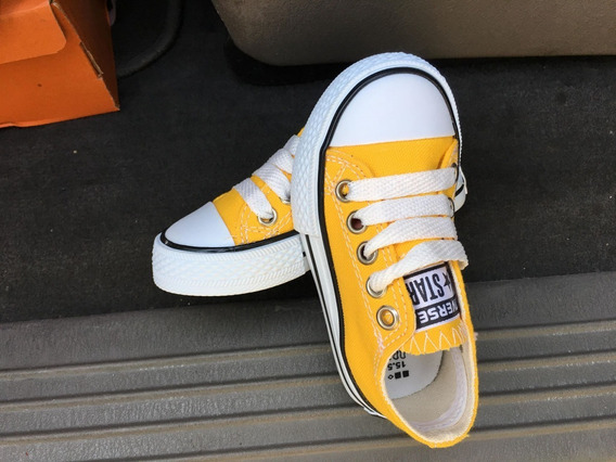 converse amarillo niño