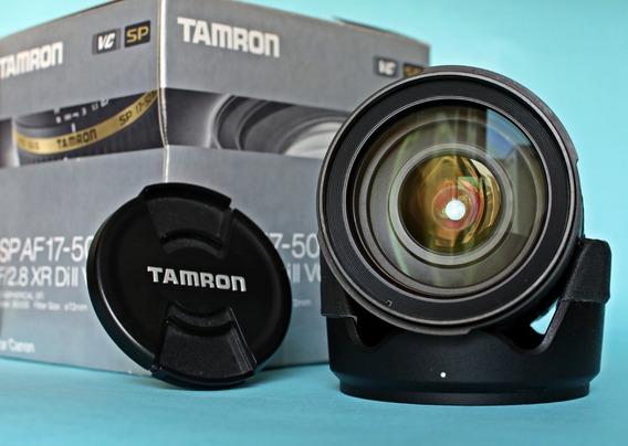 Tamron Canon 17-50 V C - Lente Estabilizada F/2.8 Em 12x =