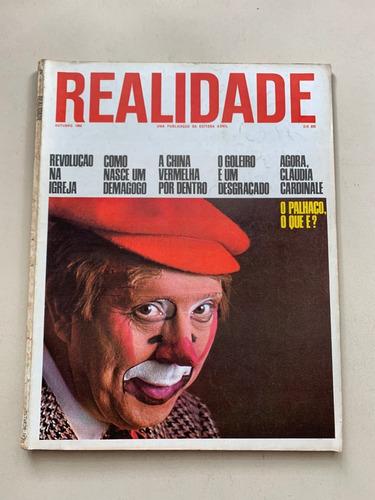 Revista Realidade Cláudia Cordinale Íris Rezende 1966 G040