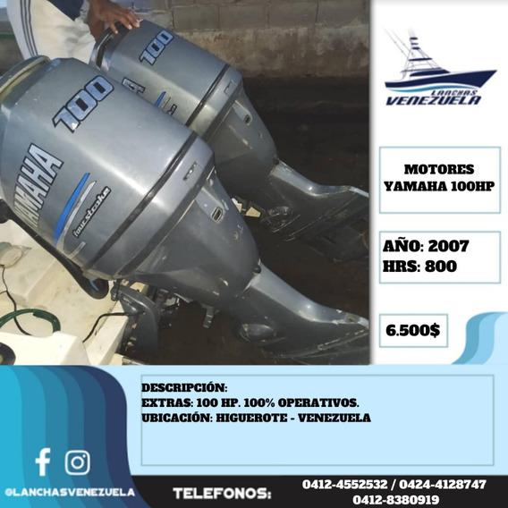 Motores Yamaha 100hp Lv525