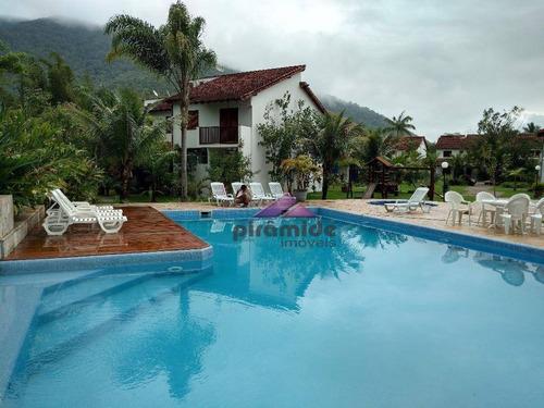 Casa Com 2 Dormitórios À Venda, 90 M² Por R$ 445.000,00 - Maranduba - Ubatuba/sp - Ca3258