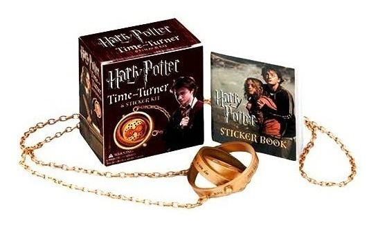 Harry Potter Time Turner Sticker Kit Novo Original Lacrado