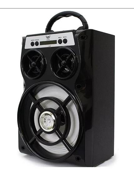 Caixinha Som Qualidade Sd Usb Bluetooth 15w Speaker Portátil
