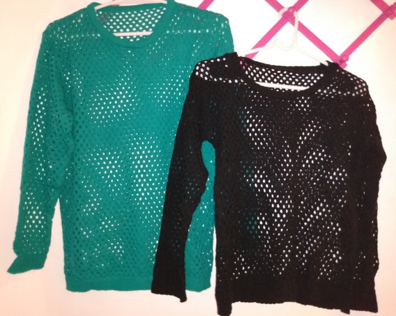 Sweaters Calados X 12 Unidades (usados, Se Venden Juntos)