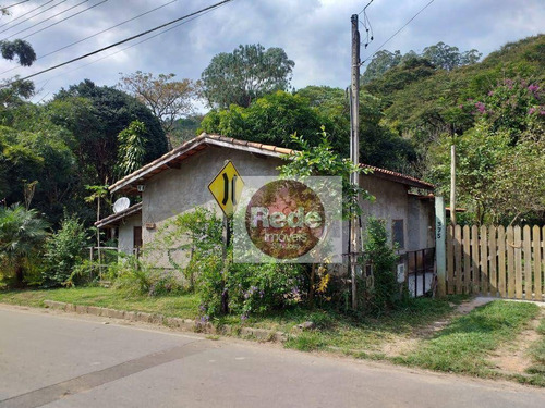 Chácara Com 3 Dormitórios À Venda, 1550 M² Por R$ 390.000,00 - Centro - Monteiro Lobato/sp - Ch0065