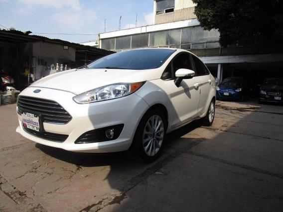Ford Fiesta 4p. Titanium, Ta, A/c, Aut, Ba, F. Niebla Ra 16