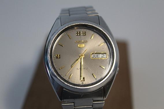Reloj Seiko 5, 21 Joyas, Automático 1988