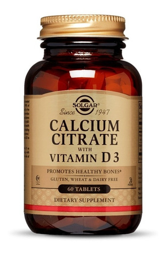 Calcium Citrate With Vit D3 60 Tab