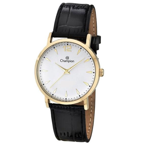 Relógio Feminino Analógico Champion Ch24062m Dourado