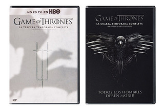 Game Of Thrones Juego Tronos Paquete Temporadas 3 Y 4 Dvd
