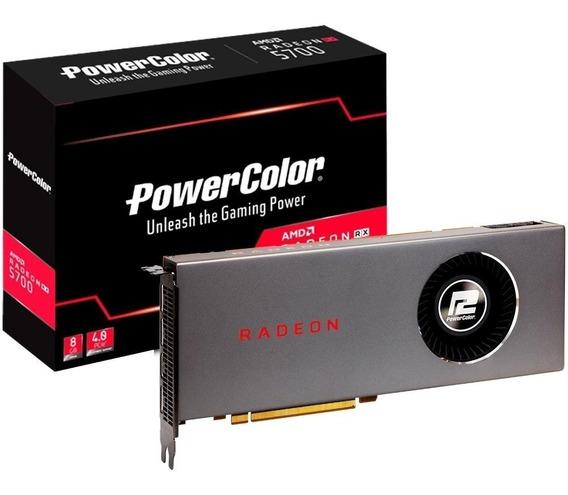 Placa De Vídeo Power Color Radeon Rx5700 D6 8gb Gddr6
