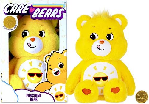 Imagem 1 de 8 de Pelúcia Ursinhos Carinhosos Care Bears 2020 Funshine Bear