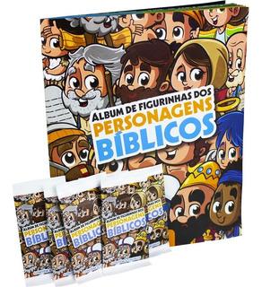 Álbum De Figurinhas - Turma Da Bíblia - Com Todas Figurinhas