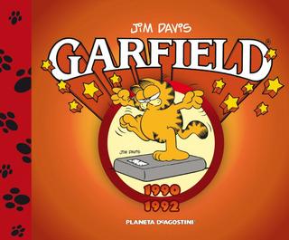 Garfield 1990-1992 Nº 07 De Jim Davis - Comics Argentica