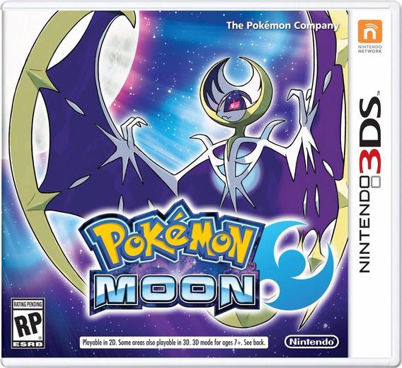 Pokémon Moon - 3ds - Pronta Entrega! Midia Fisica!