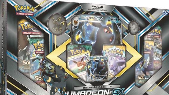 Pokémon Box Coleção Premium Umbreon / Gx Espeon Gx - Copag