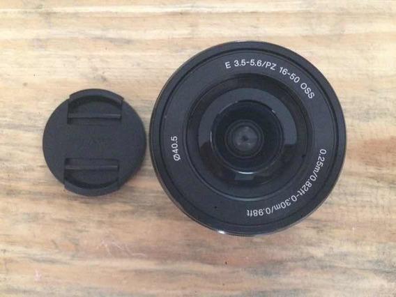 Lente Sony Sel 16-50mm F/3.5-5.6 Oss A6000 A6300 A6400 A6500