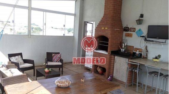 Apartamento Duplex Com 2 Dormitórios À Venda, 106 M² Por R$ 235.000 - Piracicamirim - Piracicaba/sp - Ad0004