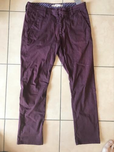 Pantalon Herencia Argentina Gabardina Talle Xs
