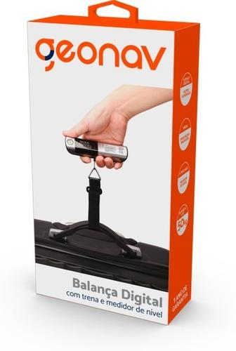 Balança Portátil Digital (suporta Até 50kg) - Tlba03