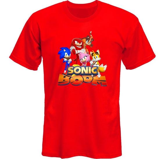 Remeras Sonic Boom Serie Animada Sega Vg *mr Korneforos*