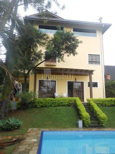 Imagem 1 de 15 de Casa Em Condomínio Na Granja Viana. - Rt1552