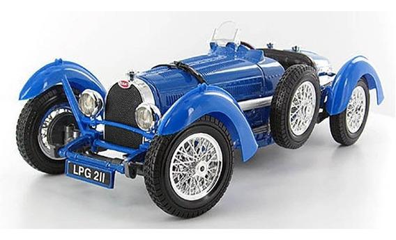 Bugatti Type 59 Azul Burago Escala 1/18