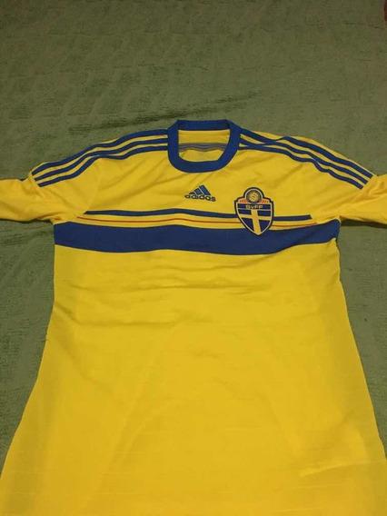 Camiseta Selección De Suecia 2014
