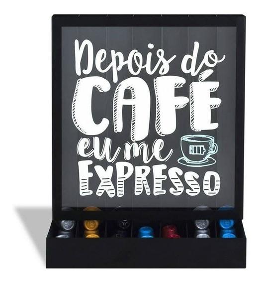 Porta Capsulas Parede/mesa Cafe Expresso Geguton Novo