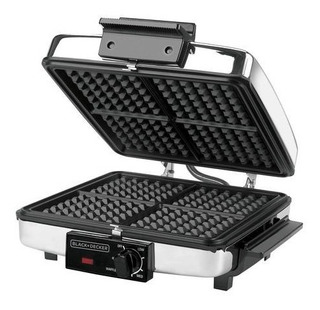Wafflera Black & Decker® Modelo (g49td) Nuevo En Caja