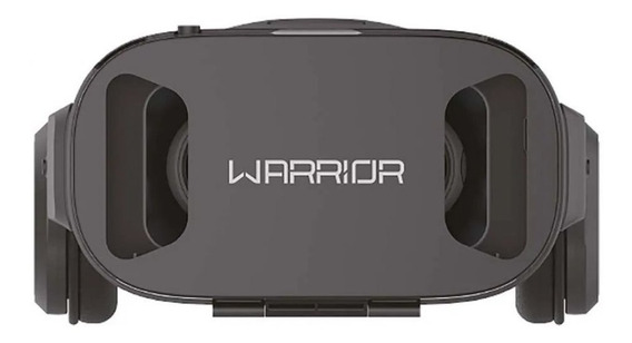 Óculos 3d Realidade Virtual Com Headphone Warrior Js086