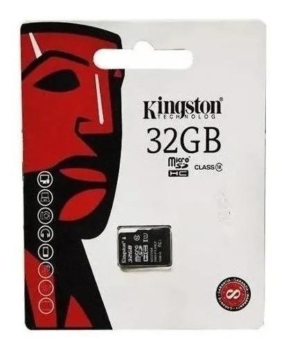 Cartão De Memória Para Celular 32gb Kingston Class 10 Sdc10
