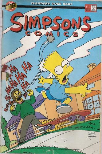 Revista Simpsons Comics Bongo Nº 11 - En Ingles