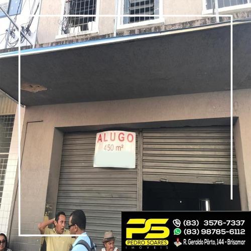 Imagem 1 de 7 de Loja Comercial Para Locação, Centro, João Pessoa. - Lo0007