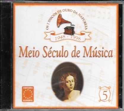 Cd Meio Século De Música Volume 5 1948 1998 Chico Buarque