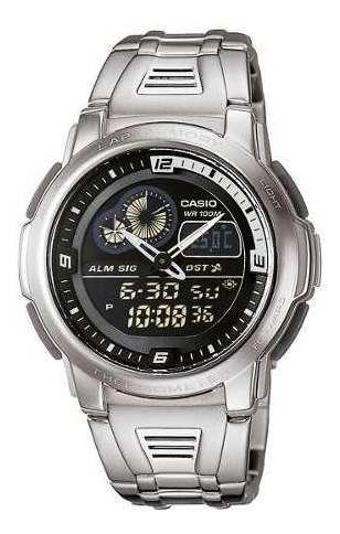 Reloj Casio Hombre Plateado Aqf-102wd-1bvdf