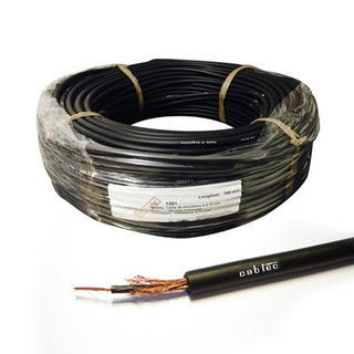 Rollo 100m Cable Mono Audio Sonido Microfono 5,7mm Cabtec