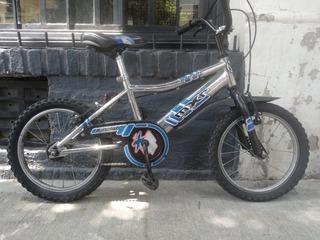 Bicicleta Infantil Rodado 14 Bmx Mxr Cromada