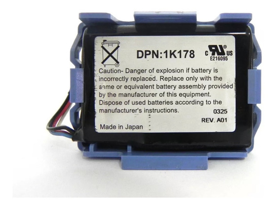 Bateria Servidor Dell Poweredge 2600 Dpn:1k178