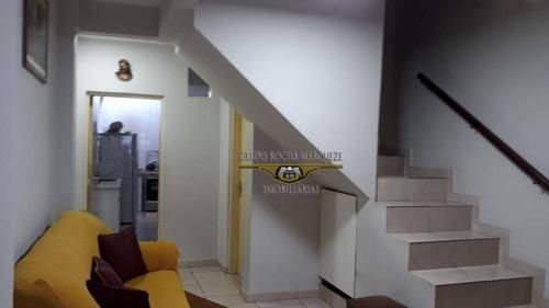 Sobrado Com 2 Dormitórios À Venda, 80 M² Por R$ 440.000,00 - Belém - São Paulo/sp - So1477