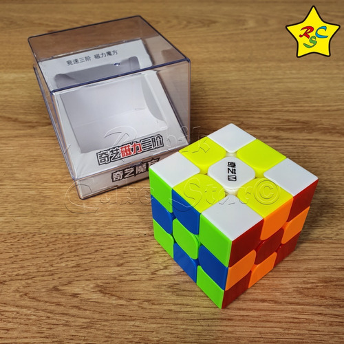 Qiyi 3x3 Ms M Cubo Rubik Magnetico Profesional Stickerless