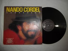 Lp Vinil - Nando Cordel - Aconchego