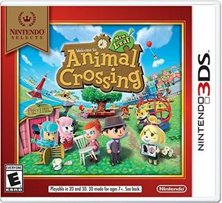 Juegos,nintendo Selects Animal Crossing New Leaf - Ninte..