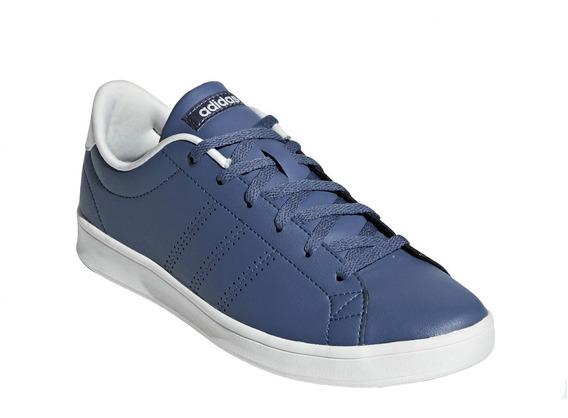 Tenis adidas Advantage Clean Qt Azul Unisex