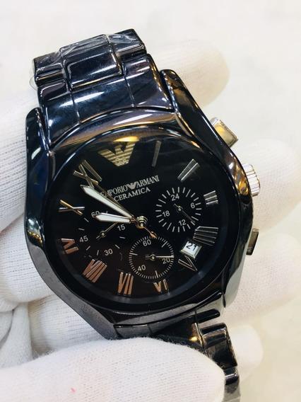 Relógio Emporio Armani Cerâmica Black
