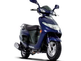 Moto Scooter Suzuki An 125 Automatica 0km Urquiza Motos