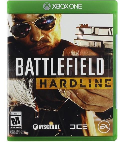 Battlefield Hardline Pt-br Xbox One Mídia Física Lacrado
