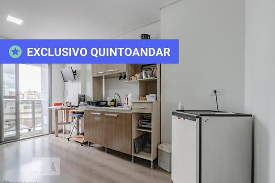 Studio No 8º Andar Mobiliado Com 1 Dormitório E 1 Garagem - Id: 892982492 - 282492