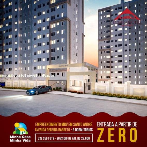 Apartamento Para Venda Em Santo André, Jardim Jamaica, 1 Dormitório, 1 Vaga - Elcsan142_2-916339