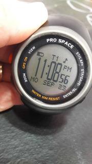 Reloj Gps Pro Space Con Todos Los Accesorios